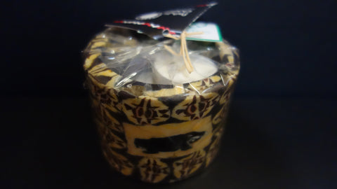 Swazi soya tealight candle