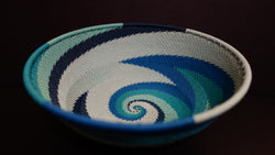 South African telephone wire bowl 6.5 inch