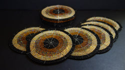 Beaded Coasters Kenyan