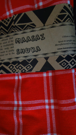 Traditional Maasai Shuka