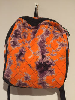 Backpack made of African print fabric