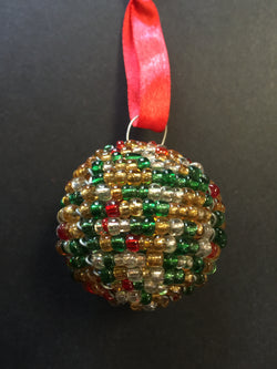 Beaded Ball Mullticoloured