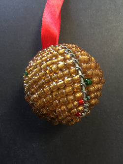 Beaded Ball gold