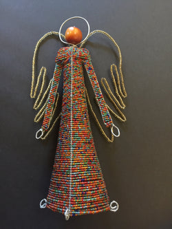 Beaded Angel Multi coloured Large