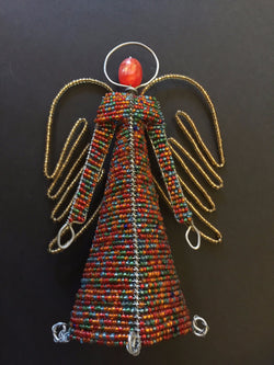 Beaded Angel Multi coloured Small