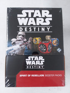 Star Wars DESTINY Booster Box SEALED!! Spirit of the Rebellion