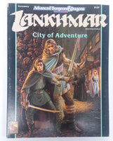 AD&D 2nd Edition ~ LANKHMAR CITY OF ADVENTURE ~ TSR 2137