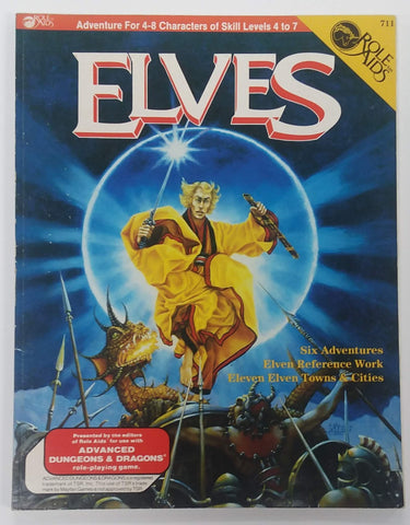 D&D ROLE AIDS ~ ELVES ~ 711