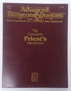 AD&D 2nd Edition ~ THE COMPLETE PRIEST'S HANDBOOK ~ TSR 2113 (B)
