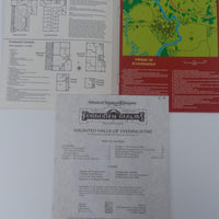 AD&D 2nd Edition ~ HAUNTED HALLS OF EVENINGSTAR ~ TSR 9354