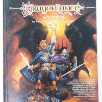 AD&D ~ DRAGONLANCE ADVENTURES  ~ TSR 2021 (WORN)