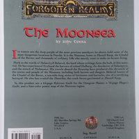 AD&D 2nd Edition Forgotten Realms ~ THE MOONSEA ~ TSR 9474