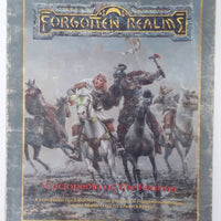 AD&D ~ FORGOTTEN REALMS CYCLOPEDIA OF THE REALMS ~ TSR 1031XXX1901 (Worn)