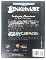 AD&D 2nd Edition ~ CUTTHROATS OF LANKHMAR ~ TSR 9470