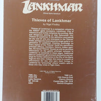 AD&D 2nd Edition ~ THIEVES OF LANKHMAR ~ TSR 9276