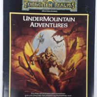 AD&D 2nd Edition Forgotten Realms ~ THE RUINS OF UNDERMOUNTAIN ~ TSR 1060 Box Set (No Box)