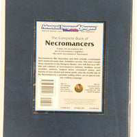 AD&D 2nd Edition ~ THE COMPLETE BOOK OF NECROMANCERS ~ TSR 2151