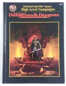 AD&D ~ DUNGEON MASTER OPTION: High-Level Campaigns ~ TSR 2156
