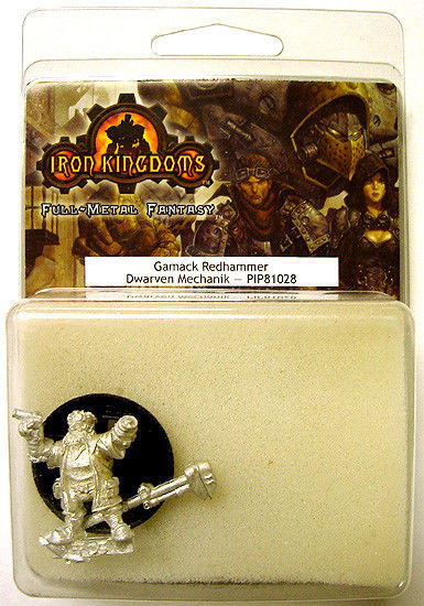 2004 Iron Kingdoms GAMACK REDHAMMER Dwarven Mechanik
