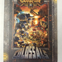 Warmachine Colossals SC PIP1049 New and Unused