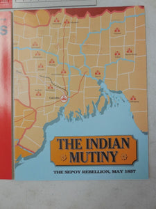 SPI Strategy & Tactics No. 121 1988 - Indian Mutiny - UNPUNCHED w/ MAP