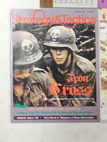 SPI Strategy & Tactics No. 132 1990 - Iron Cross - UNPUNCHED w/ MAP