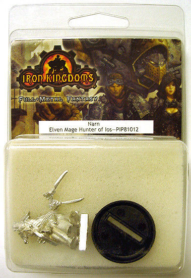 2004 Iron Kingdoms NARN Elven Mage Hunter of Ios