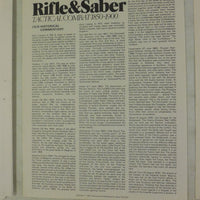 SPI - RIFLE & SABER Tactical Combat 1850-1900 - 1973 - w/MAP Laminated