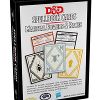 D&D Spellbook Cards Martial Power and Races
