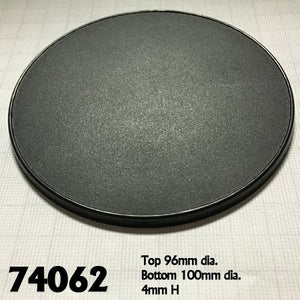 Reaper Bones 74062 100mm Base 100mm Round Gaming Base