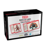D&D Spellbook Cards Monsters Challenge Rating 0-5