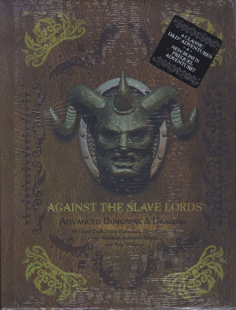 AD&D ~ Against the Slave Lords A0-A4