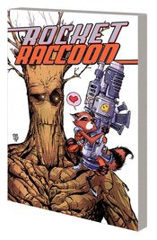 Rocket Raccoon and Groot VOL 0 Bite and Bark
