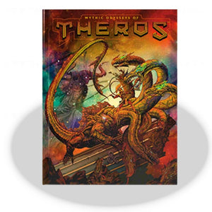 D&D 5th ed Mythic Odysseys of Theros (Alternate Art Cover)