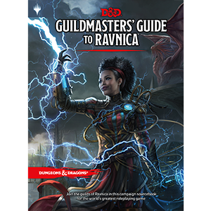 D&D 5th ed Guildmasters' Guide to Ravnica (Magic the Gathering)