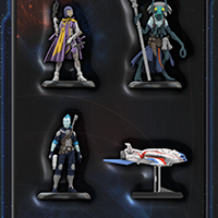 Starfinder Miniatures Iconic Heroes Set #1