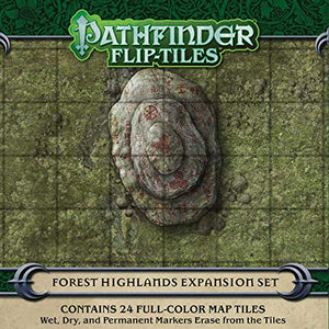 Pathfinder Flip-Tiles ~ Haunted Woodlands Expansion Set