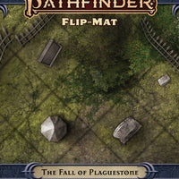 Pathfinder 2nd Edition ~ Adventure ~ The Fall of Plaquestone ~ Flip-Mat