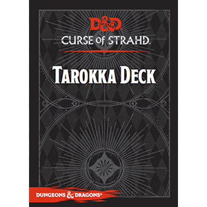D&D 5th ed Curse of Strahd Tarokka Deck (2019 Edition)