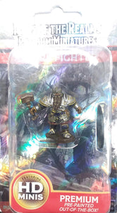 Wizkids Prepainted Dwarf Male Fighter ~ Icons of the Realms Premium Miniature ~ WZK93010