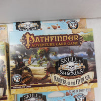 PATHFINDER Adventure Card Game SKULL & BONES Full Collection All Expansions NEW!