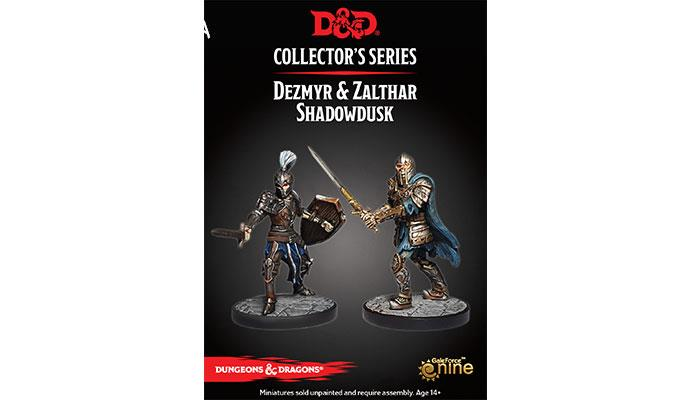 D&D Collector's Series ~ Dezmyr & Zalthar Shadowdusk ~ Dungeon of the Mad Mage