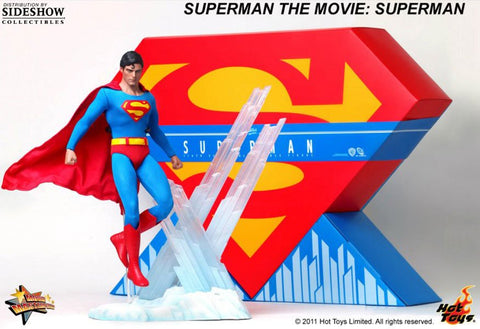 HOT TOYS Sideshow SUPERMAN The MOVIE Christopher Reeve 1/6 Scale Figure 2011 MIB