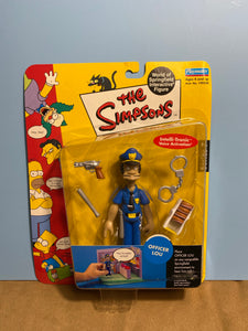 Simpson's Series 7: Hans Moleman; Dolph; Edna; Cletus; Officer Lou & Officer Marge