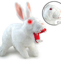Plush Monty Python Death with Big Pointy Teeth Rabbit