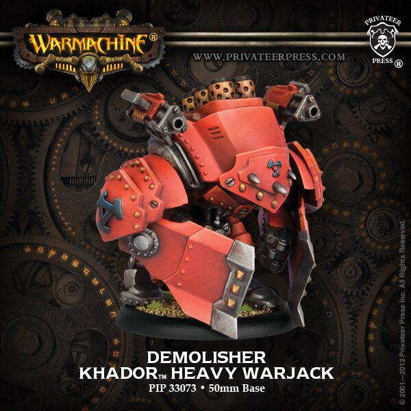 Warmachine Khador Demolisher * Devastator * Spriggan Heavy Warjack ~ PIP 33118