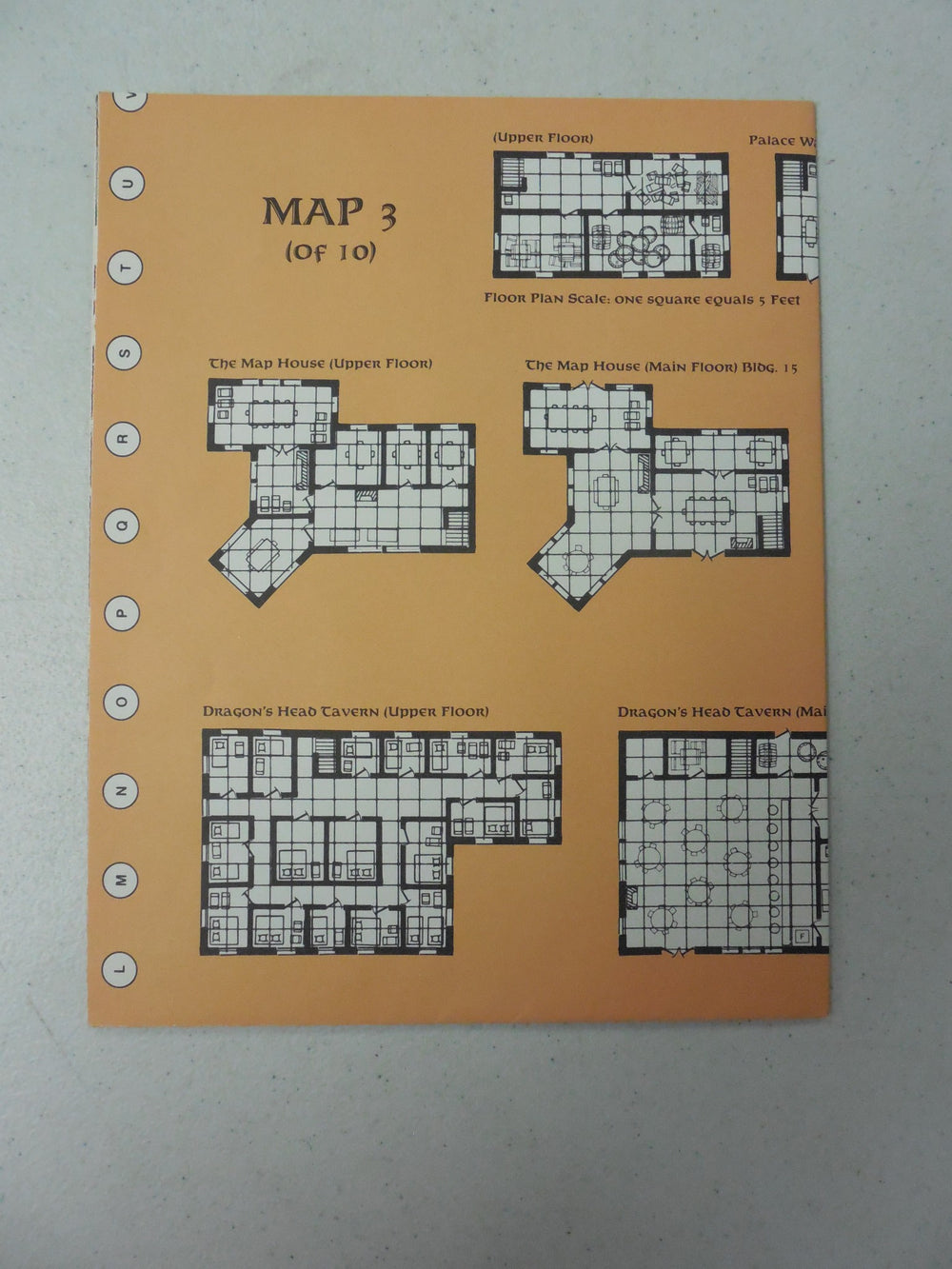 Dungeons & Dragons City System Map 3 of 10 1040XXX0703 Forgotten Realms