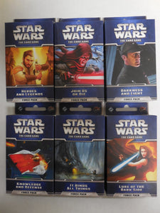 Star Wars LCG ECHOES OF THE FORCE Cycle ~ All 6 Force Packs