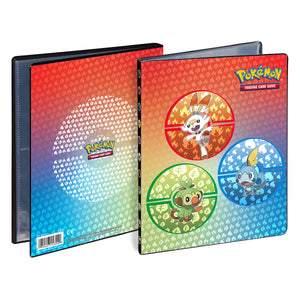 Ultra Pro Pokemon 4 Pocket Portfolio ~ Sword & Shield Galar Starters