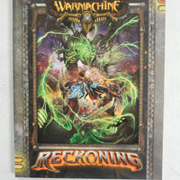 Warmachine RECKONING Softcover PIP 1060